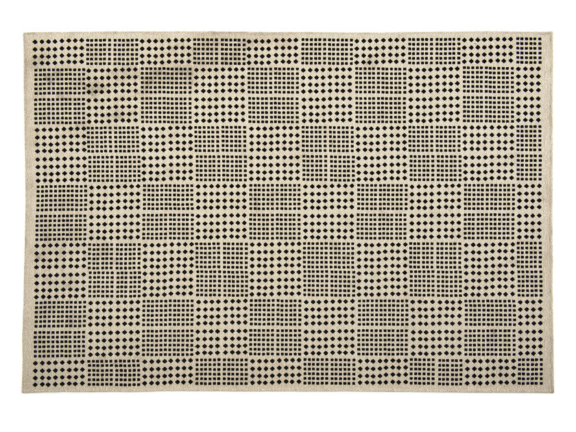 Rug with geometric shapes AFRICA by Calligaris