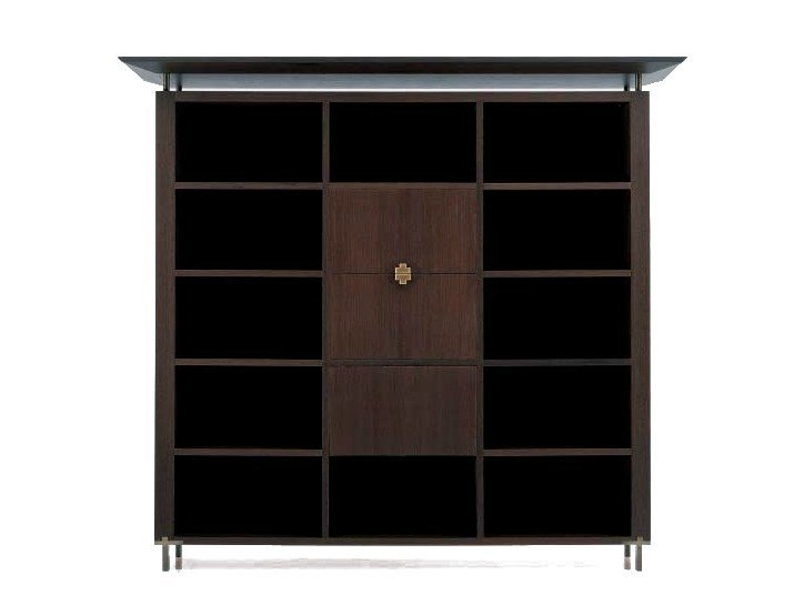 Libreria Ufficio Wenge : Libreria ufficio in legno sc 3008 e by oak design luca scacchetti