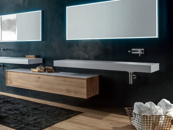 Moderne badezimmermöbel holz  SHAPE EVO | Wand- Badmöbel By FALPER Design Michael Schmidt