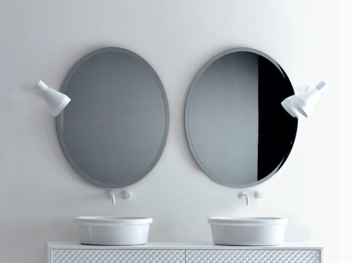 Oval bathroom mirror Oval mirror by FALPER