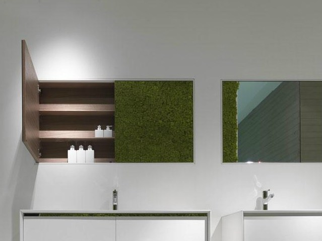 Wall-mounted bathroom mirror with cabinet Mirror with cabinet by FALPER