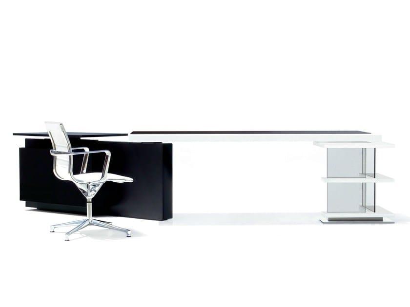 Executive desk with shelves MICHAEL by JOSE MARTINEZ MEDINA