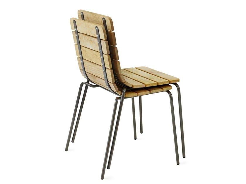 Stackable garden chair 11:AN by Nola Industrier
