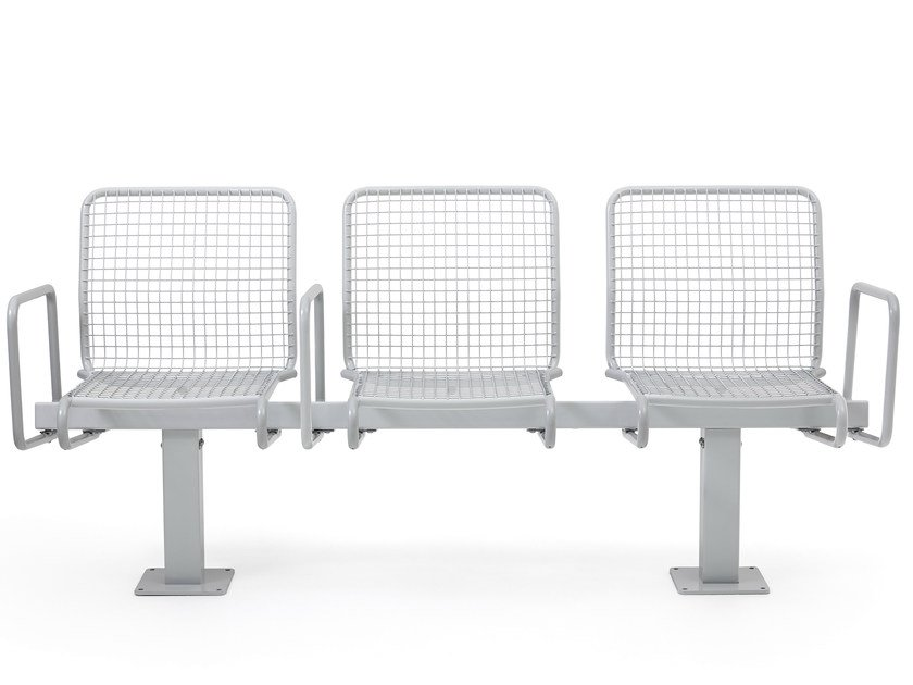 Steel beam seating SOLLIDEN | Beam seating by Nola Industrier