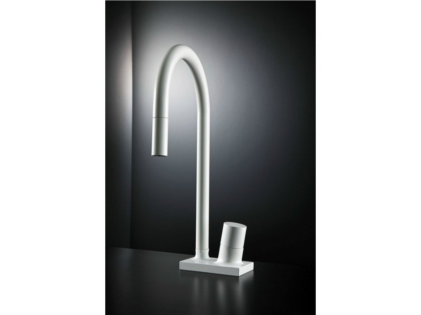 Contemporary style kitchen mixer tap FLUID F7028 | Kitchen mixer tap by FIMA Carlo Frattini
