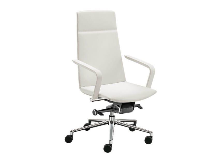 High-back executive chair MODE PLAIN | Executive chair by Sesta