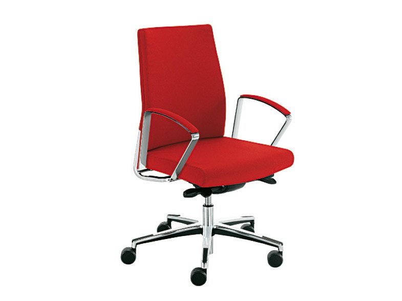 Swivel executive chair with armrests WIN-I | Executive chair by Sesta