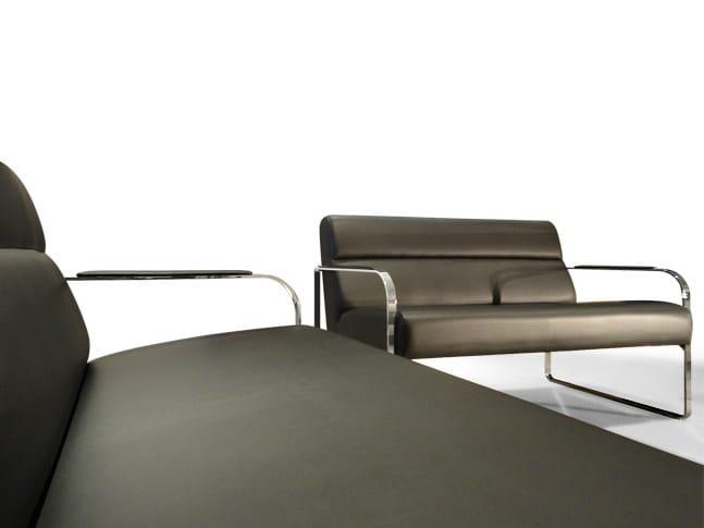 Sled base leisure sofa LLOYD WAITING | Sofa by JOSE MARTINEZ MEDINA