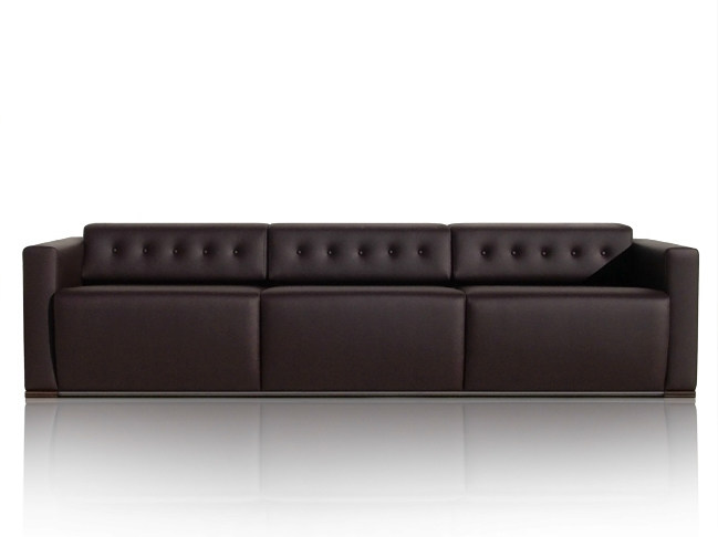 3 seater leather sofa WILLIAMS | Sofa by JOSE MARTINEZ MEDINA