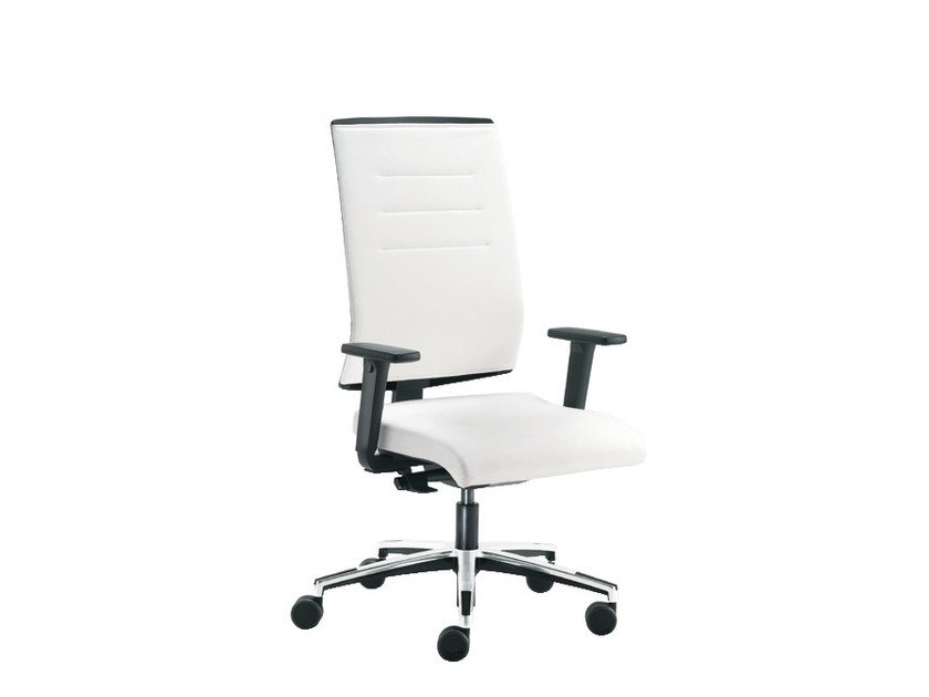 Task chair with 5-Spoke base SAX AIR | Task chair by Sesta