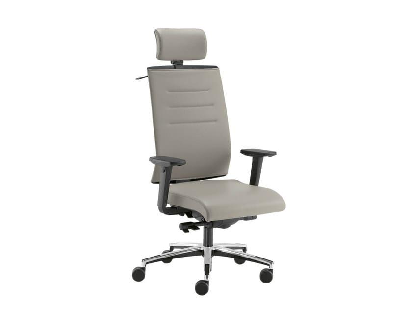 Sedie Ufficio Con Ribaltina : Sedia ufficio operativa con poggiatesta sax air sedia ufficio