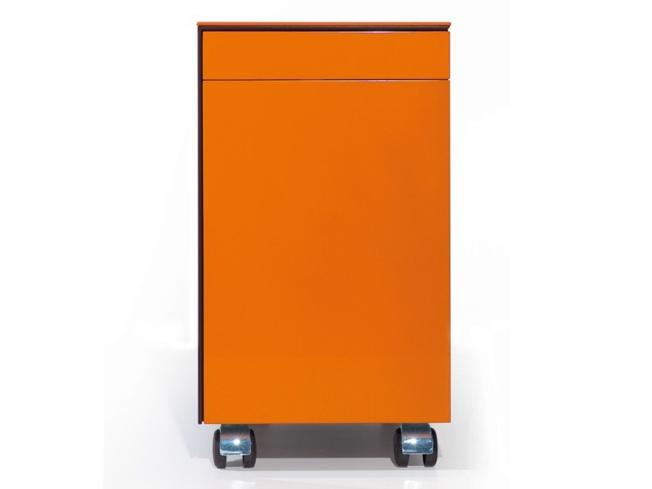 Office drawer unit with casters KBINET by JOSE MARTINEZ MEDINA