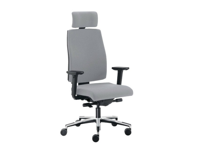 Task chair with 5-Spoke base SAX 8   Task chair by Sesta