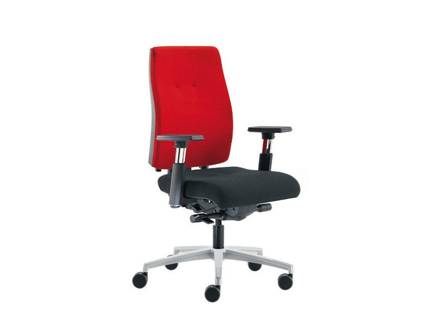 Task chair with 5-Spoke base SAX 24   Task chair by Sesta