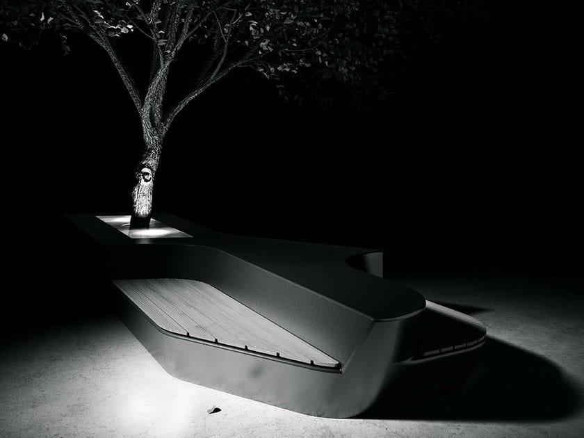 Modular GRC Bench OSA by Concrete Rudolph