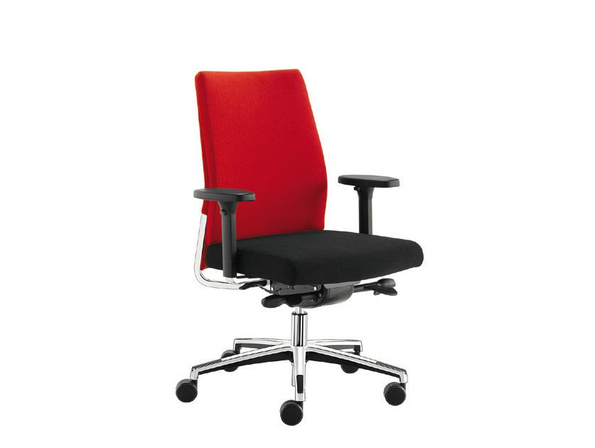 Task chair with 5-Spoke base WIN-I | Task chair by Sesta