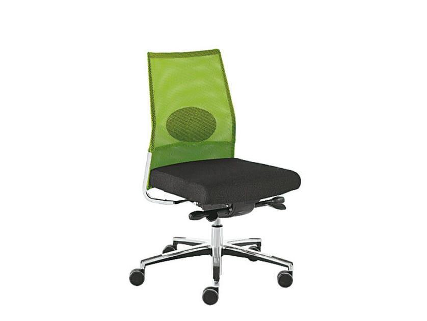Recliner mesh task chair WIN-R RETE | Task chair by Sesta