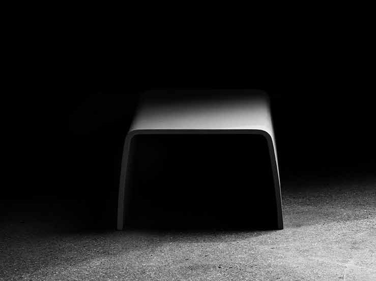 GRC coffee table TABLOO by Concrete Rudolph