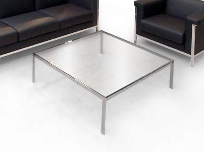 Square glass coffee table ALIANTE   Square coffee table by JOSE MARTINEZ MEDINA