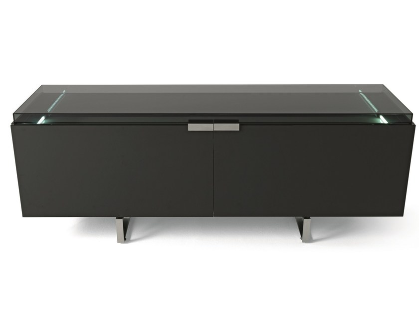 Double-sided sideboard with coplanar doors GRAND PALAIS by MisuraEmme
