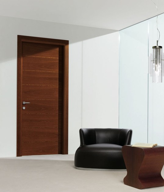 Hinged wooden door ORIGINI   Hinged door by PIVATO