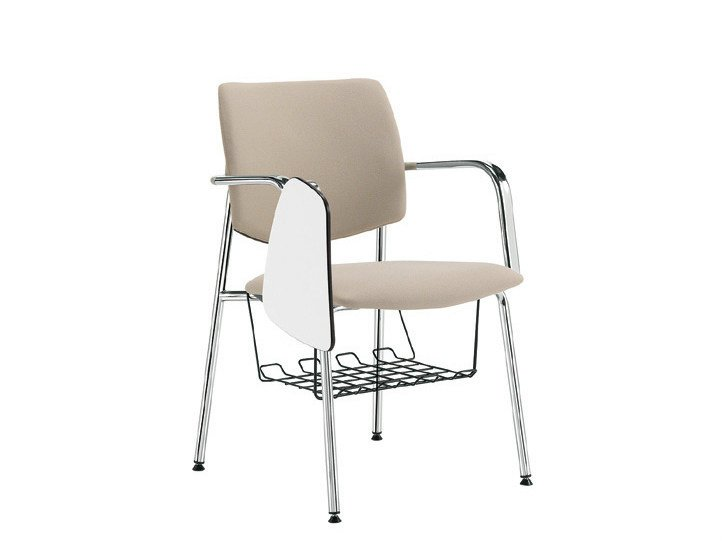 Training chair with writing tablet Q-44 | Training chair by Sesta