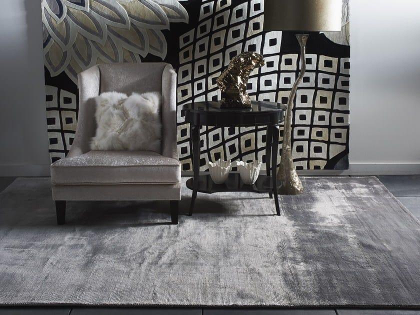 Handmade solid-color rug VELVET CARPETS   Handmade rug by EBRU