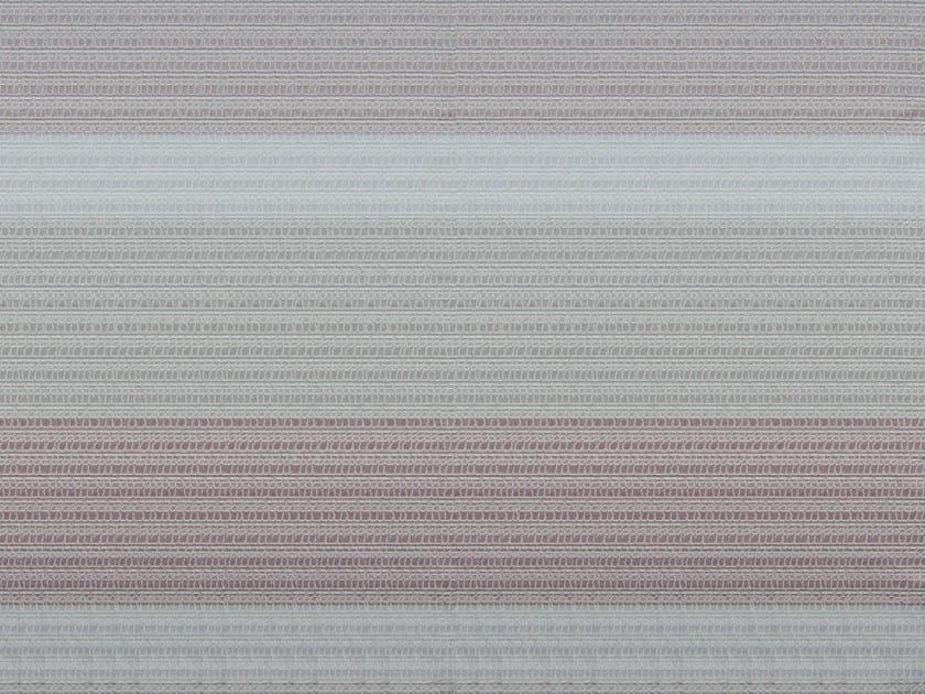 Striped cotton and linen fabric ASAWA 3 by KOHRO