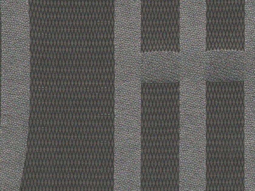 Cotton fabric with graphic pattern FIBULA by KOHRO
