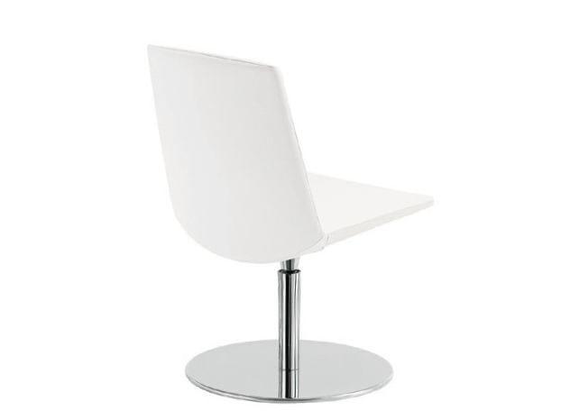 Swivel trestle-based chair MODE SMALL | Swivel chair by Sesta