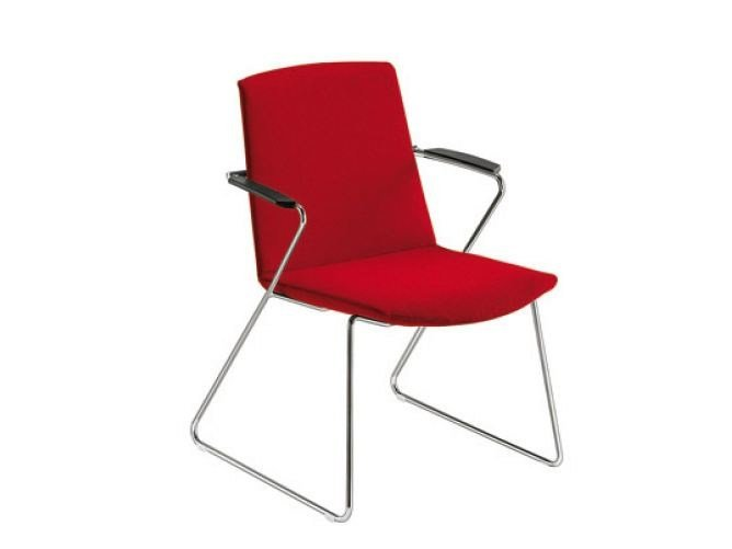 Sled base visitor's chair MODE SMALL   Visitor's chair by Sesta
