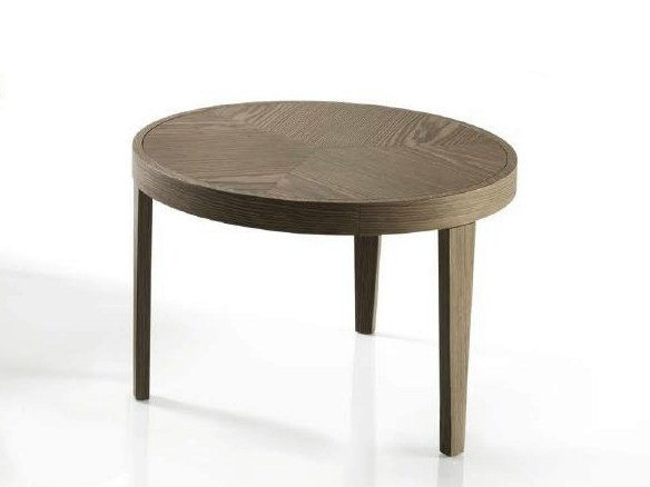 Low round coffee table for living room JOEL by Bontempi