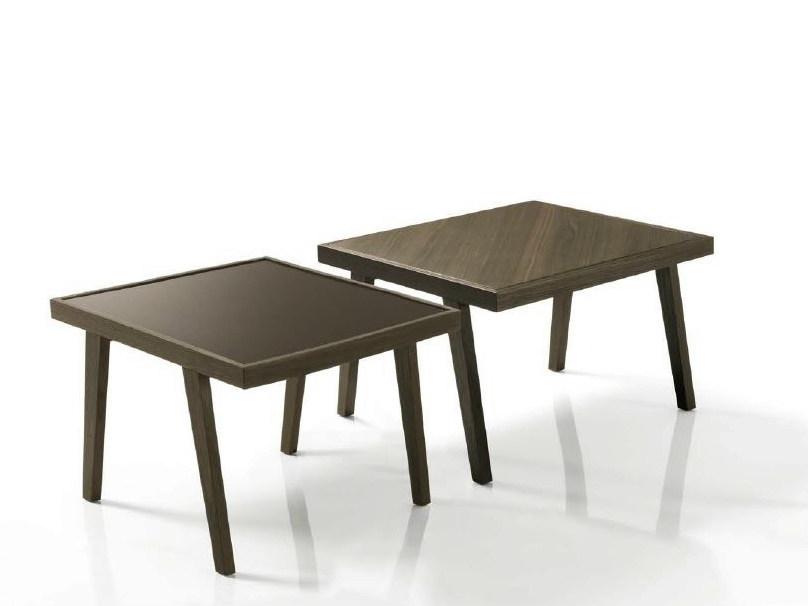 Square coffee table for living room DAVID by Bontempi