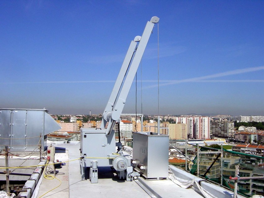 Overhead platform PENTAGONAL BMU by Pentagonal