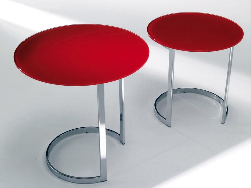 Low crystal coffee table DODÒ by Bontempi
