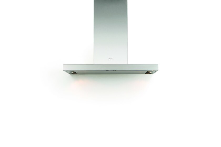Wall-mounted cooker hood with integrated lighting 7600 FLAT'LINE by NOVY