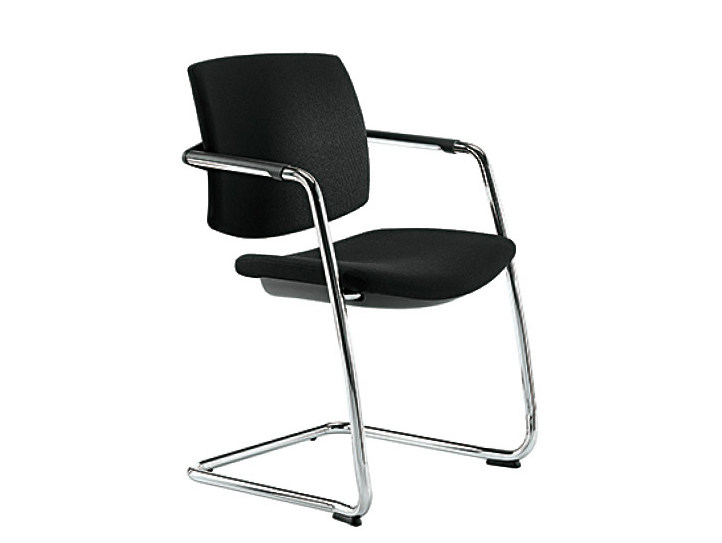 Cantilever reception chair Q-EASY | Chair by Sesta