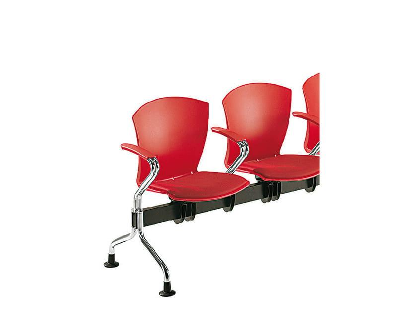 Polypropylene beam seating CARINA | Beam seating by Sesta