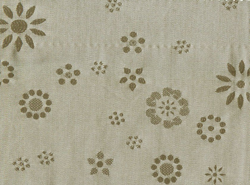 Cotton and silk fabric with floral pattern MARILIA by KOHRO