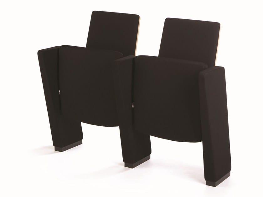 Fabric auditorium seats EGO | Auditorium seats by True Design