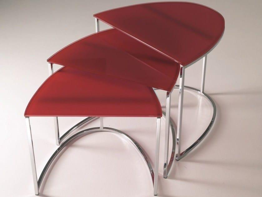 Modular coffee table for living room HOPPY by Bontempi