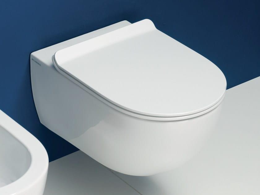 Wall-hung ceramic toilet APP | Wall-hung toilet by CERAMICA FLAMINIA