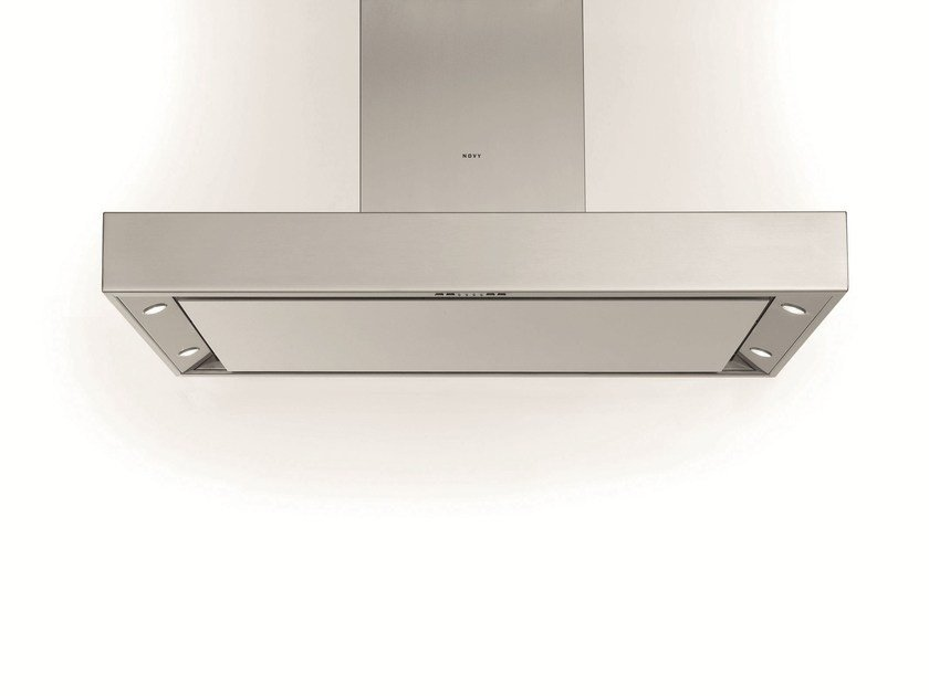 Island hood with integrated lighting 7241 PRO'LINE by NOVY