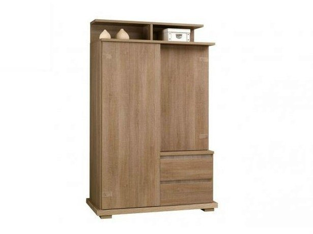 Wooden wardrobe with drawers TWEED | Wardrobe by GAUTIER FRANCE