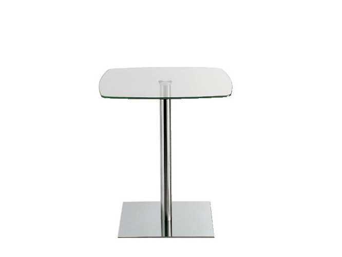 Glass contract table Contract table by Sesta