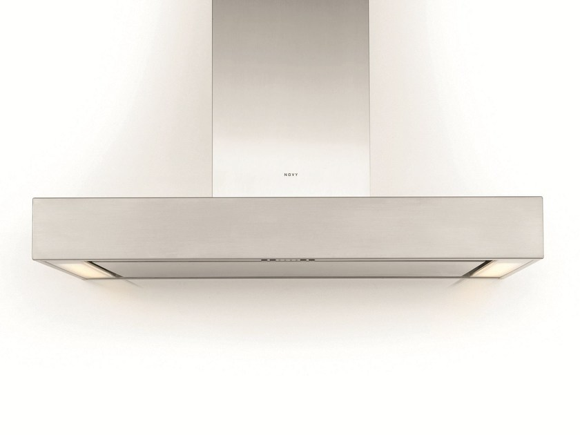Wall-mounted cooker hood with integrated lighting 7211 PRO'LINE by NOVY