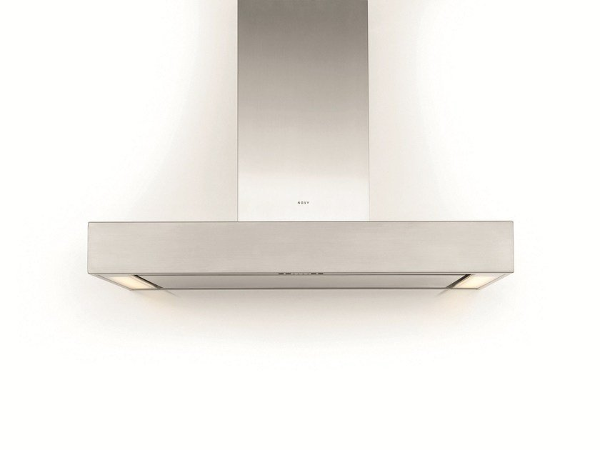 Wall-mounted cooker hood with integrated lighting 7215 PRO'LINE by NOVY
