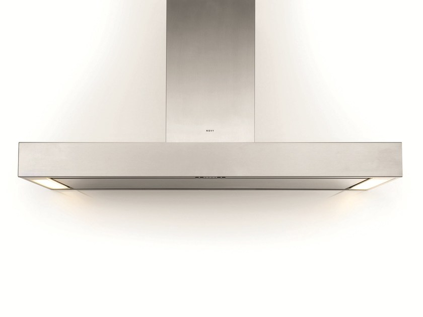 Wall-mounted cooker hood with integrated lighting 7220 PRO'LINE by NOVY