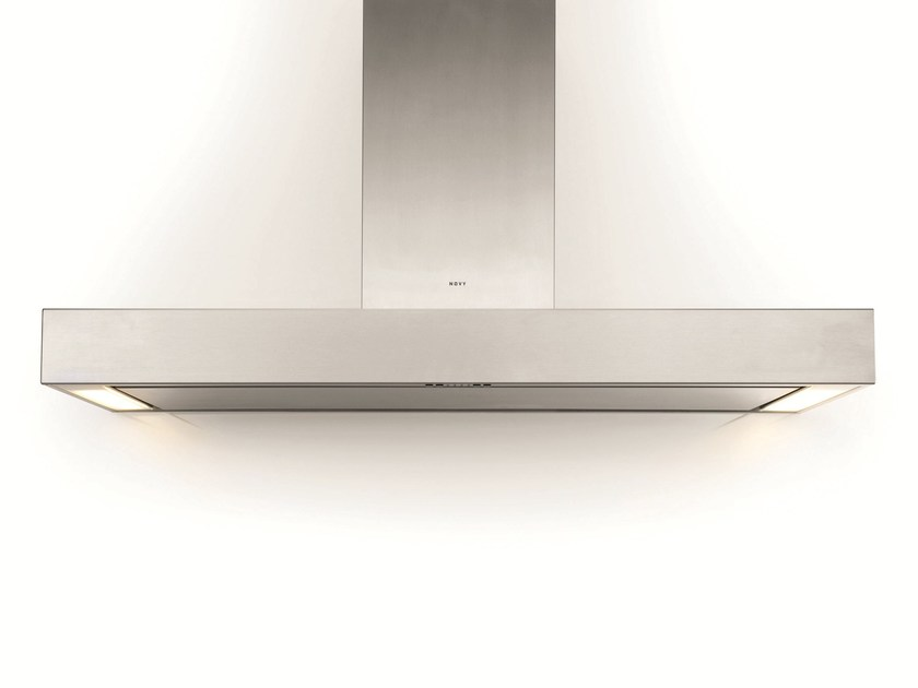Wall-mounted cooker hood with integrated lighting 7225 PRO'LINE by NOVY