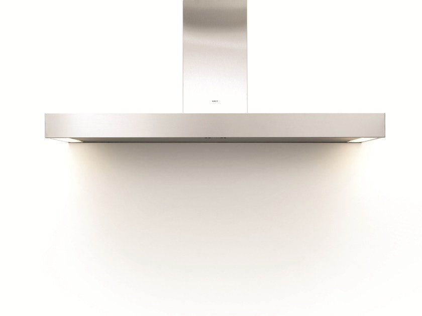 Wall-mounted cooker hood with integrated lighting 7300 PRO'LINE by NOVY